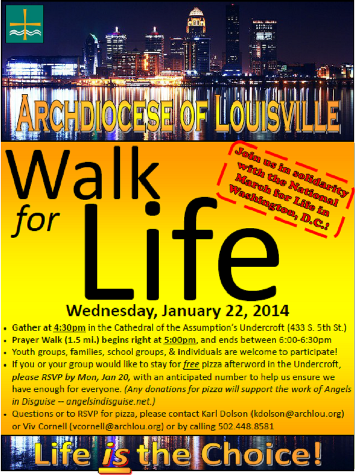 Walk for Life 2014