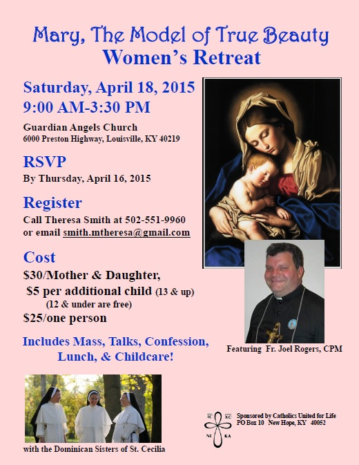 retreat 2015 flyer